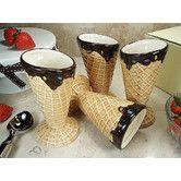 Found it at Wayfair - 4 Piece Design Ceramic Ice Cream Bowl Set