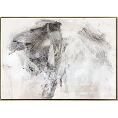 Carlyle Fine Art 'Smoke I' Framed Graphic Art Print on Canvas | Perigold