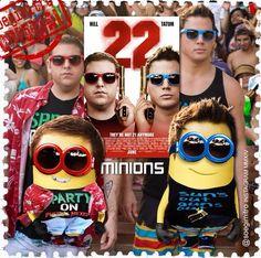 22 Jump Street Minions