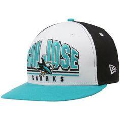 cae82a2eebf New Era San Jose Sharks Teal-White Monolith 9FIFTY Snapback Adjustable Hat  New Era.  26.97
