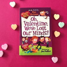 With more than 12 million books sold, the My Weird School series really gets kids reading!It's the week of Valentine's Day, and A. I School, School Ideas, Thumb Wars, National Book Store, Valentine Day Gifts, Valentines, Book Nerd Problems, Kids Library, Reluctant Readers