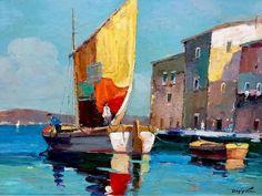Doyly John (1906-1993) Oil on canvased board.