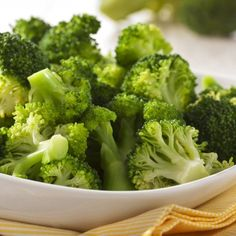 Steamed Broccoli with Olive Oil, Garlic, and Lemon I made this tonight, cooked the broccoli a little too long, but flavor was good.