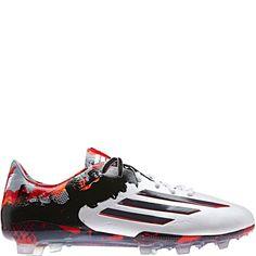 d99910aa020b adidas Messi 10.1 FG White/Granite/Scarlet Soccer Cleats - model B23767