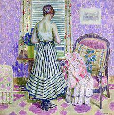 Interior 1918 by Louis Ritman (1889 - 1963)