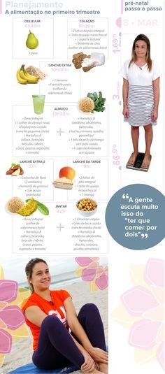 Meta da nutricionista é que Fernanda Gentil ganhe apenas 7kg na gravidez
