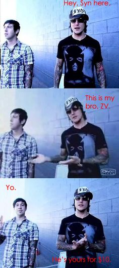 I want Zacky for $10. xD