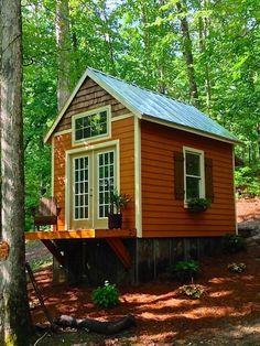 180 Sq. Ft. Otter Den Tiny House via Tiny House Talk