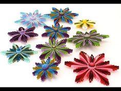 квиллинг - пять видео мастер-классов по изготовлению цветов. Обсуждение на LiveInternet - Российский Сервис Онлайн-Дневников