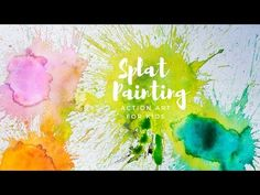 Splat painting is easy peasy and super fun for active kids. This simple action art activity involves hitting paint-soaked cotton balls with a small mallet.