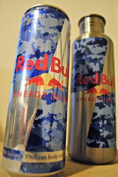 @Red Bull Camo Can