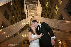 The Atrium at the Curtis Center | Amanda + Clive » Jennifer Childress Photography