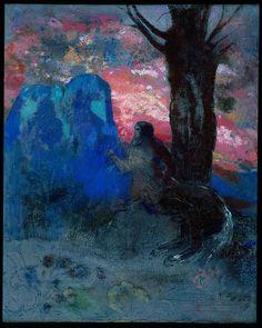 Centaur by Odilon Redon (1910).