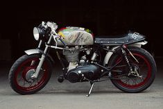 Royal Enfield Bullet: 'The Badger' #caferacer #motorcycles #motos | caferacerpasion.com