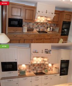 kitchen facelift colored sinks 47 best before and afters images makeovers dream doors colchester makeover https www dreamdoors co