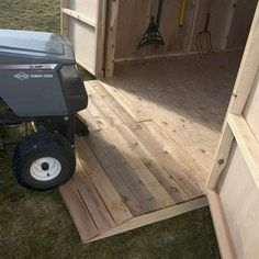 Outdoor Living Today OR31 Shed 31 Ramp Option - Outdoor Living Showroom