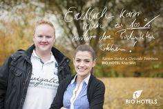 Küchenchef und Restaurantchefin von Alter Wirt *** superior in Grünwald bei München #biohotels #bio #biorestaurant