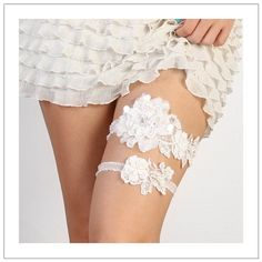 Lace Blossom Garter