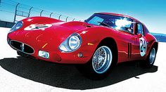 Ferrari 250 GTO. Hands down the best Ferrari GT ever made