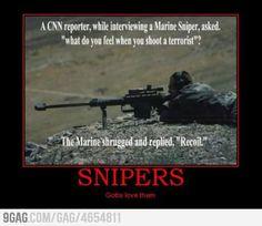 Smartass sniper