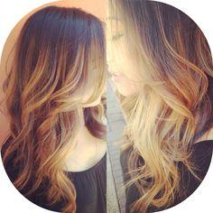 #balayage by April Kayganich at #urbanbettysalon in Austin, TX!  #haircolor #highlights #hairpainting #hair #love #color #austin