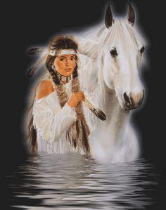 native american indian girls | ... /AAAAAAAAAWY/v_4UEjOZABE/s1600/Native_American_Woman_and_Horse.gif