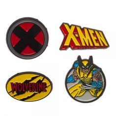 X-Men Wolverine Lapel Pin Set