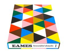 """""""Eames:Beautiful Details""""celebrates the seamlessness and fluidity in which Charles and Ray Eames operated as both a husband-and-wife team and as designers unrestricted by traditionally profesionally boundaries."""
