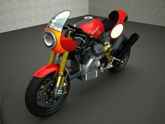 Design Corner - Moto Guzzi Le Mans 1400 by Marcocarbon