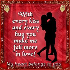 Send this to the one you love and express your emotions. Free online My Heart Belongs To You ecards on Love Romantic Love Pictures, I Love You Images, Love You Gif, Beautiful Love Quotes, Romantic Love Quotes, Love Yourself Quotes, Love Poems, Love Quotes For Him, Romantic Good Morning Messages