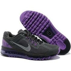 http://www.asneakers4u.com/ Cheap air max 2013 nike mens shoes grey purple size40 47