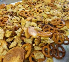 Baking with Love: Crockpot Chex Mix