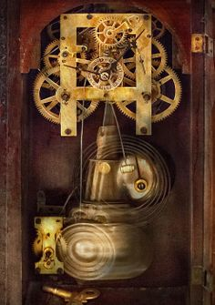 Clockmaker - The Mechanism  Print By Mike Savad