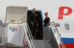 President Putin was the first leader to fly out of Australia shortly before President Obam...