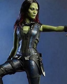 Zoe Saldana Gamora Costume
