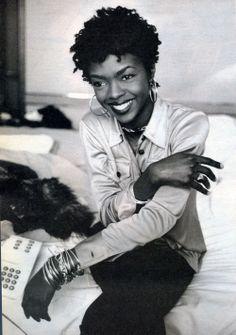 Lauryn Hill: love her voice