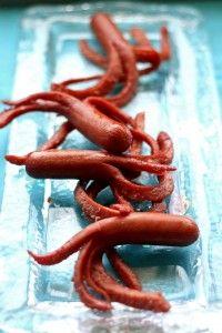 Hot Dog Octopus   Nautical Party Food   Nautical Kids Parties