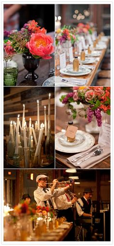 Gorgeous details at the Brooklyn Winery Parlor. Via 100 Layer Cake