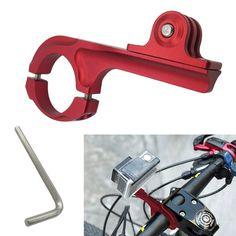 Motorcycle Bike Aluminum Bicycle Handlebar Mount Holder for GoPro Hero2 33+ 4 SJ4000 Gopro Accessories Outdoor Action Camera