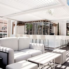 perfection.  outside bar, glass wine cellar.