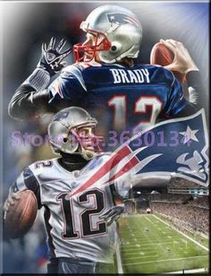 c5d3c4aeb DIY 5D Diamond Painting - Team Patriots - Multiple Sizes. New England  Patriots FootballPatriots FansNfl ...