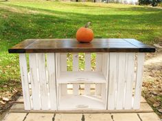 Hand Crafted Rustic Country Kitchen Island by Erick Perez Evergreen Company | CustomMade.com