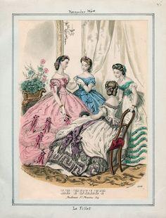 Le Follet, November 1864 - Anais Toudouze