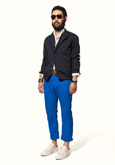 Nonnative Blue Chinos