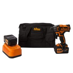 Triton Cordless Impact Driver 20V T20ID 160 Nm Supplied with 2 x 4Ah lithium-ion batteries, Intelligent charger...Product EAN 5024763111198