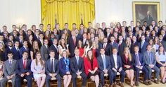 This group of current WH interns pretty much sums up the urgency of ending discrimination against white achievers.