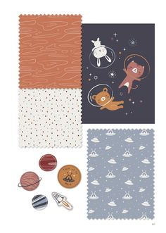 Trendbooks And Design Agency Baby Deco, Cute Kawaii Girl, Kids Inspire, Trending Art, Kato, Kids Prints, Portfolio, Baby Design, Textile Prints