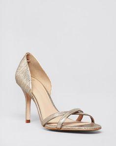 AERIN Open Toe D'Orsay Evening Sandals - Cocobay High Heel   Bloomingdale's