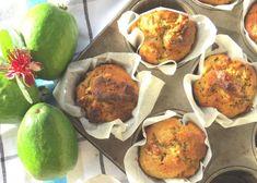 Feijoa Skin Muffins