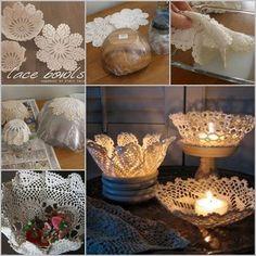 Olá meninas, tudo bem? Hoje quero compartilhar com vocês uma ideia simples de como fazer cestos com o crochet... use uma vasilha firme, f...